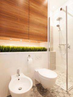bathroom - a small piece of lawn :-)