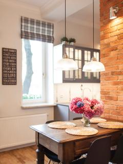 beautiful stylish dining table