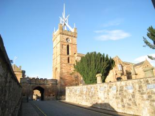 St Michael's Church in historic Linlithgow
