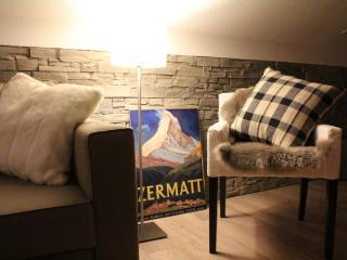 the apartment has been refurbished in summer 2012 in a modern chalet style