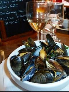 Moules - local Vendeen speciality - Dining Out