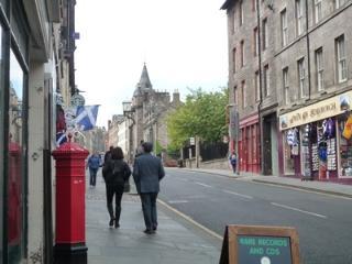 Bulls Close: Off the historic Royal Mile, Edinburgh