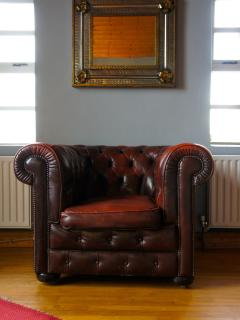 Gorgeous Chesterfield chair