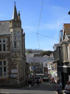 St.Ives town centre, 2 minutes from maisonette