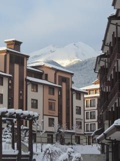 Downtown Bansko Apartments in Winter