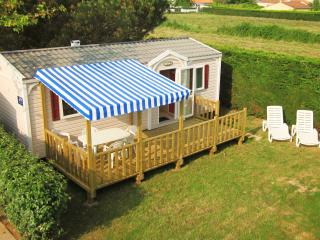 Mobile Home with Semi covered canopy