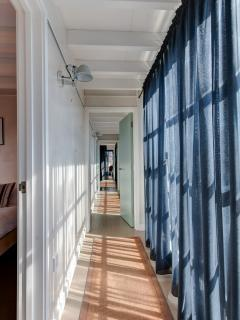 Hallway leading to all bedrooms
