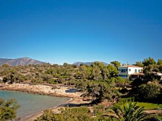 BeachFront Electra Villa with Tennis Court, Porto Heli