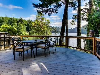 Lakeside home w/outdoor kitchen & stunning views!