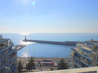 JdV Holidays Apartment Euphorbe 5, three bedrooms, superb sea views & terrace!, Niza