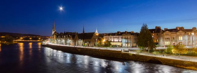 Perth City Scotland at night
