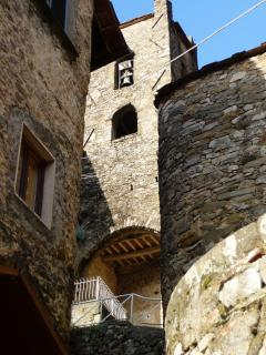 Cocciglia, the old church
