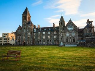The beautiful Abbey where you will find the Abbey Garden apartment