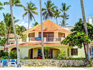 Villa Moonstar Ocean View 7bdr WiFi Maid PickUp, Bavaro