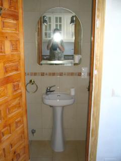 Downstairs Wash hand Basin with Toilet. Workman NOT INCLUDED !!!!