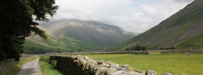 Wastwater and Wasdale are a short drive or a lovely half day's walk from the cottage