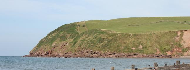 St Bees Head and the start of the Wainwright Coast to Coast walk is only miles away