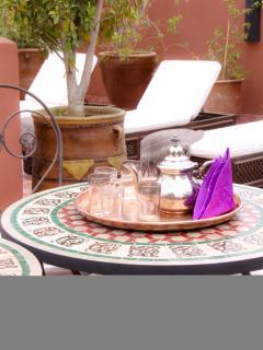 Riad Mariana terrace