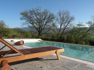 The best place to relax!wooden pool forniture.