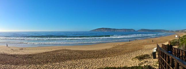 Take a scenic walk along Robberg Beach