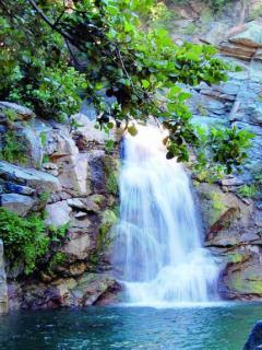 Piscine naturelle du Bucatoghju, cascade (à moins de 10 km)