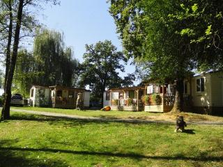 Mobile home by the Kolpa River with