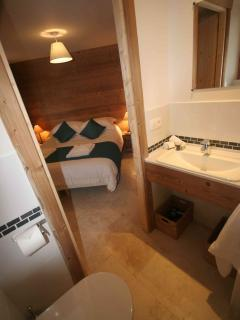 View to master bedroom from the en-suite shower room
