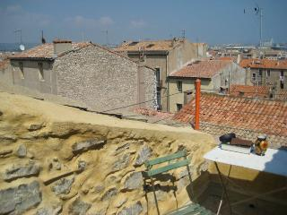 Beautiful flat Sete, Languedoc, with roof terrace