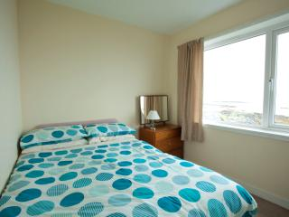 Upstairs Double Bedroom with Sea View