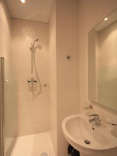 Secend bathroom with shower