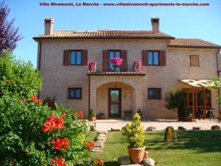 Villa Miramonti in landscaped gardens