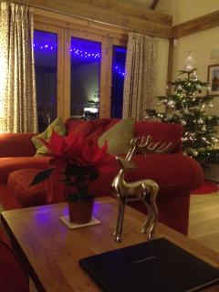 Christmas at Firs Lodge Stockbridge, Santa seems to find our guests without fail!