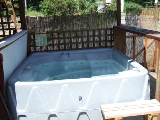 Kingfisher Lodge Hot Tub.