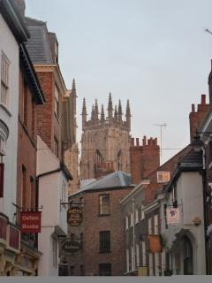 Wandering through the cobbled streets you are never far from the Minster