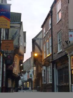 Take a stroll down the Shambles - it is even mentioned in the Doomsday Book of William the Conqueror