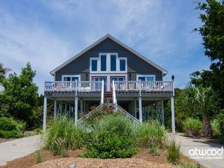 Brugger House - Ocean View, 4 Bedrooms + Loft, Isla de Edisto