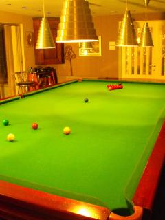 Snooker Room - Full Size Table