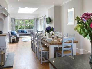 Dining area and orangery