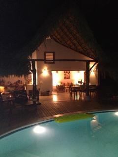 Romantic caribbean villa Lomacorazon, 65 meter from the beach.