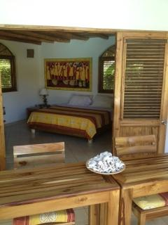 bungalow ground floor with king size bed