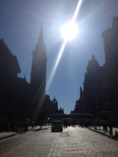 the Royal Mile is on your doorstep