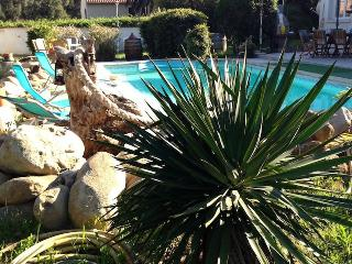 Corsica villa vacation rentals private pool near Beach, Solaro
