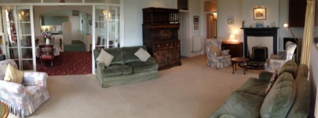 Open plan living at Hafod