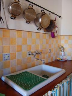 Handmade typically Sicilian Kitchen