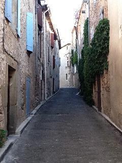Nearby Street in Caunes
