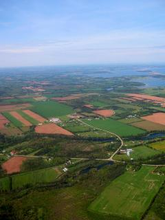 PEI from the air