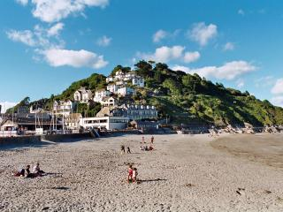 Looe beach - clean, safe, beach cafes, shops, Banjo Pier, Lifeboat Station, public toilets