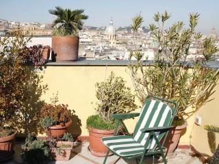 Spacious apt with great terrace center of Naples