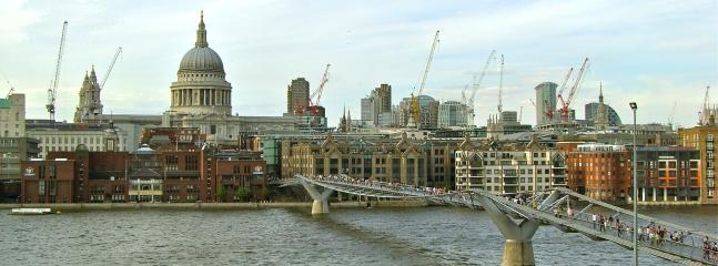 St Paul's from the Millennium Bridge