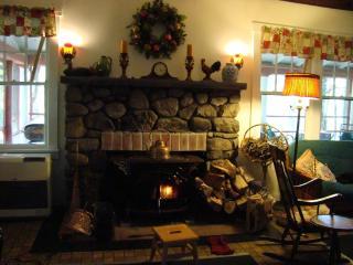 RUSTIC LAKEFRONT HOME :HUGE WRAP PORCH, Otisville